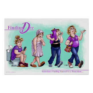 Finding Dee - Finding Yourself Poster