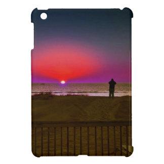Finding Harmony in Balance Beach Sunrise Meditatio iPad Mini Cover