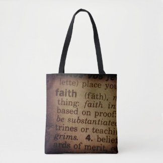 Finding Meaning - Faith Tote Bag