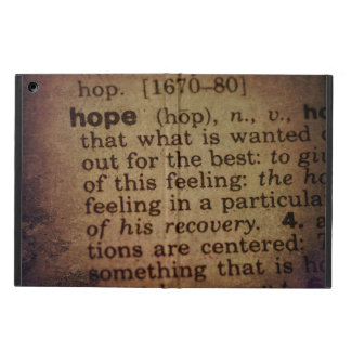 Finding Meaning - Hope iPad Air Cover