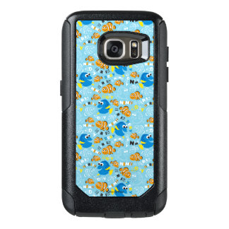 Finding Nemo | Dory and Nemo Pattern OtterBox Samsung Galaxy S7 Case