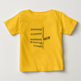 Finding your way in Alaska Baby T-Shirt