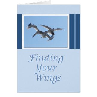 Finding Your Wings Card
