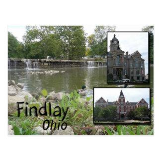 Findlay Ohio Postcard