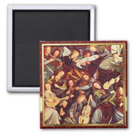 Fine Art Christmas Fridge Magnets