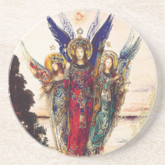Fine Art Coaster with Angels