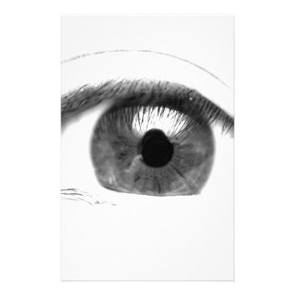 Fine art Eye View Face Stationery Paper