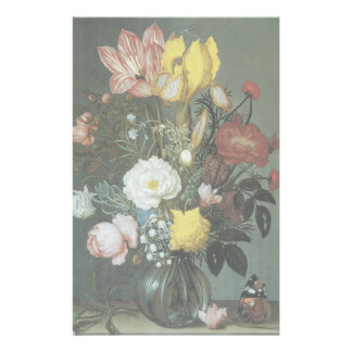 Fine Art Floral Painting Stationery