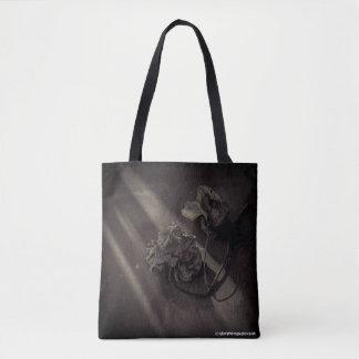 Fine art flower photograph 'rose' bag