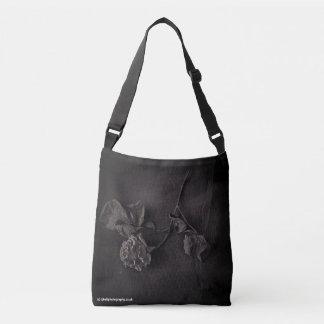 Fine art flower rose bag