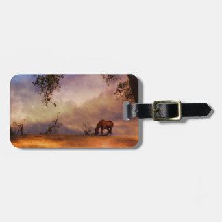 Fine Art Horse Luggage Tag
