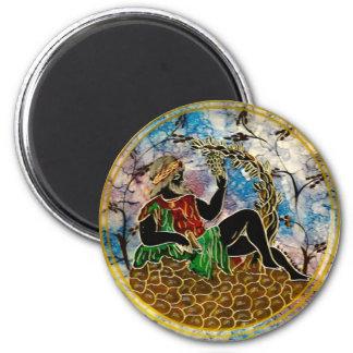 Fine Art Image for Standard, 2¼ Inch Round-Magnet 6 Cm Round Magnet