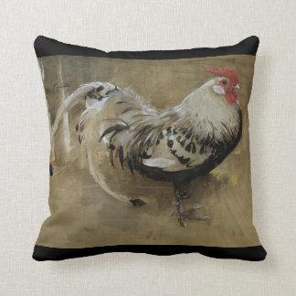"Fine Art Joseph Crawhall ""Spangled Cockerel"" Cushion"