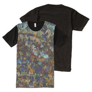 Fine Art Leaves Mens T-Shirt All-Over Print T-Shirt