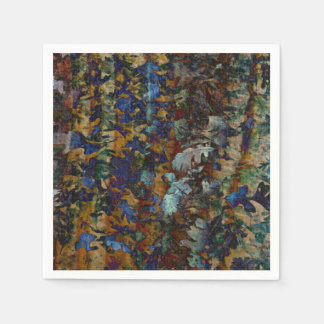 Fine Art Leaves Napkins Disposable Napkin