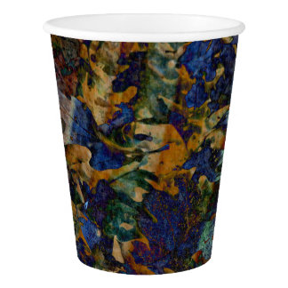 Fine Art Leaves Paper Cup