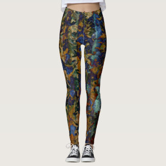 Fine Art of Leaves Leggings