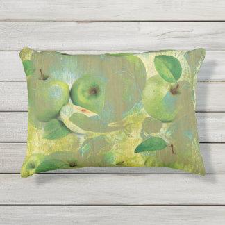 Fine Art of The Sense of Green Life Outdoor Cushion