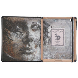 Fine art oil painting sensitive face iPad covers