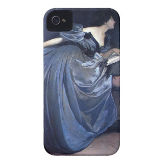 Fine art painting Althea blue woman fashion iphone iPhone 4 Case-Mate Case