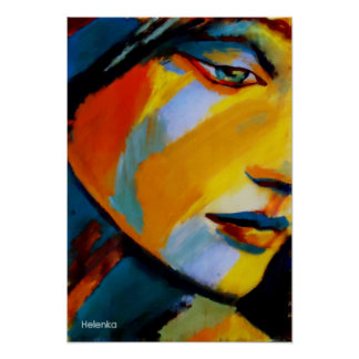 Fine Art  Prints - Vibrant colored paintings