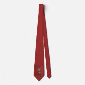 Fine Art red Deer Stag Neck Tie