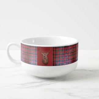 Fine Art red Deer Stag Soup Mug