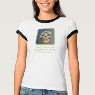 Fine art skull colorful T-shirt