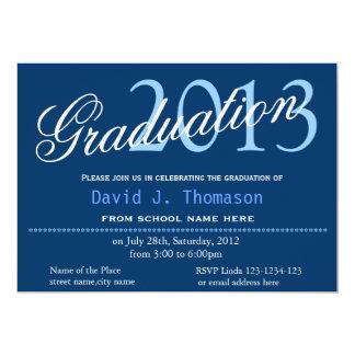 Fine art, Starry Night, classic,stylish graduation 13 Cm X 18 Cm Invitation Card