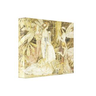 Fine Art - The Fairy Jewels Canvas Print
