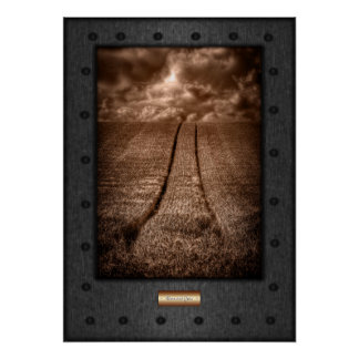 Fine Art, Wheat Field Rise Poster