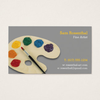 Fine Artist | Professional Business Card