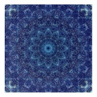 Fine Blue Mandala Art