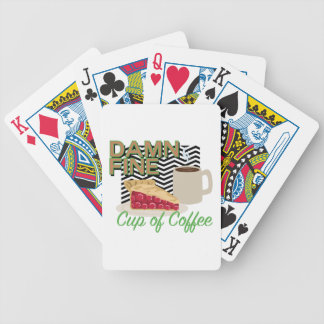 Fine Coffee & Pie Bicycle Playing Cards