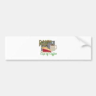 Fine Coffee & Pie Bumper Sticker