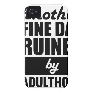 Fine Day Ruined iPhone 4 Cover