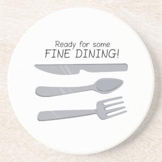 Fine Dining Beverage Coasters