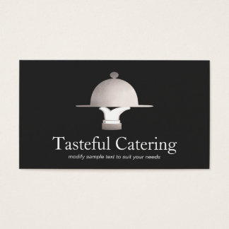 Fine Dining Restaurant and Event Catering Business Card