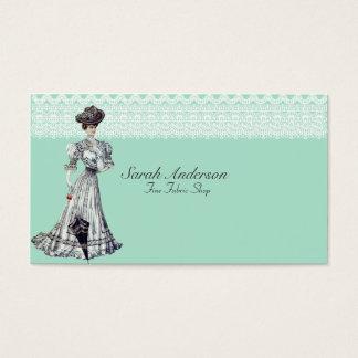 Fine Fabric Shop Business Card