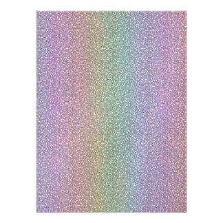 Fine Faux Glitter Sparkles Shiny Rainbow Pearl Invites
