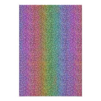 Fine Faux Glitter Sparkles Shiny Rainbow Art Photo
