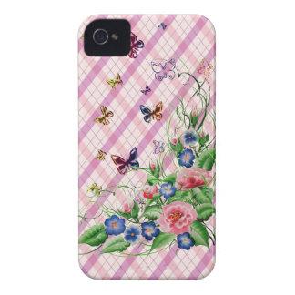 Fine flowers iPhone 4 Case-Mate case