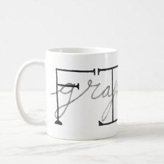 Fine Graphite Coffee Mug