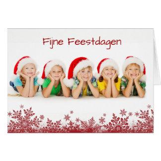 Fine holidays photograph Christmas card