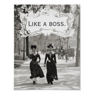 Fine Ladies Poster