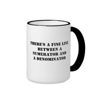 Fine Line Ringer Mug