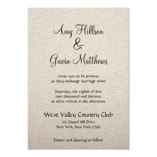 Fine Linen Invitation