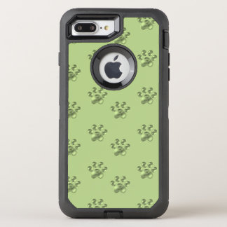 Fine olive green paws OtterBox defender iPhone 8 plus/7 plus case
