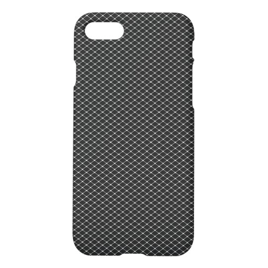 Fine Silver Metal Mesh Pattern iPhone 8/7 Case
