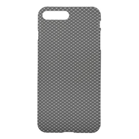 Fine Silver Metal Mesh Pattern iPhone 8 Plus/7 Plus Case